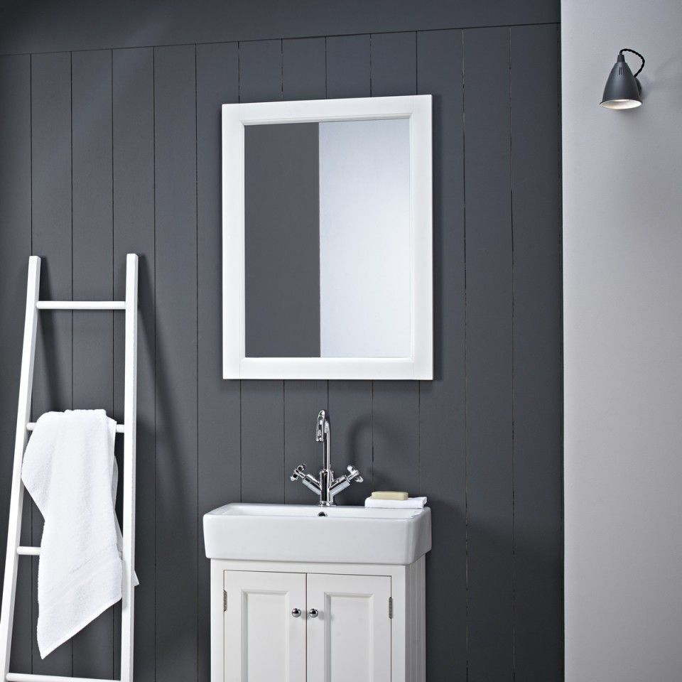 White Bathroom Mirror Ideas To Inspire You Bathroommirror Tags Bathroom Mirror Cabinet B Bathroom Mirror Rectangular Bathroom Mirror Black Bathroom Mirrors