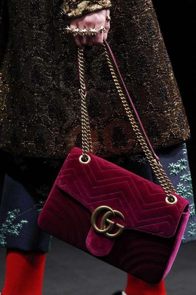 Collezione borse Gucci Autunno Inverno 2016-2017 - Shoulder bag malva Gucci 7068beca3f12