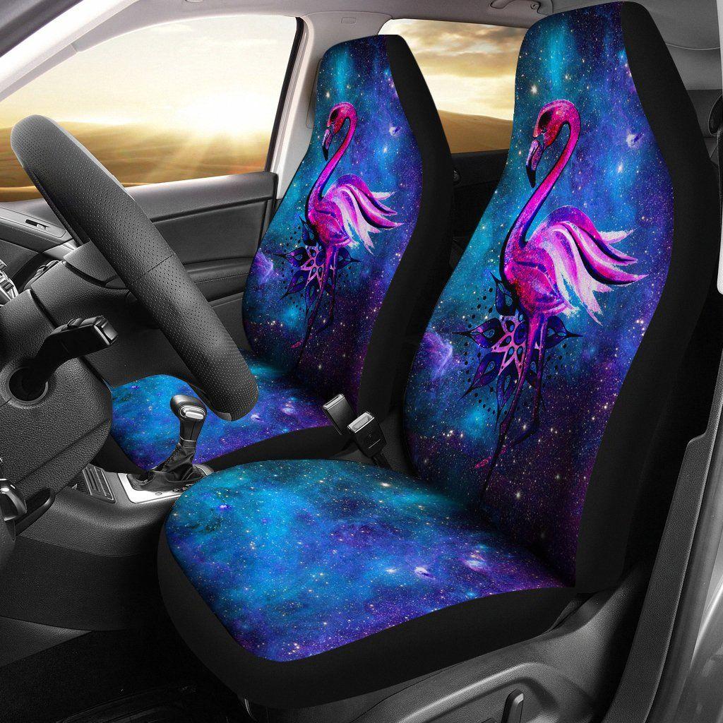Galaxy Of Design Flamingo Car Seat Covers LT04 Custom
