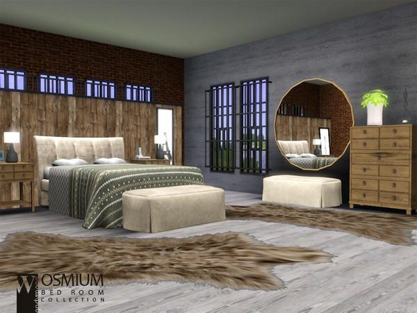 Osmium Bedroom By Wondymoon Sims 3 Downloads Cc Caboodle Sims House Sims 3 Rooms Sims 4 Bedroom