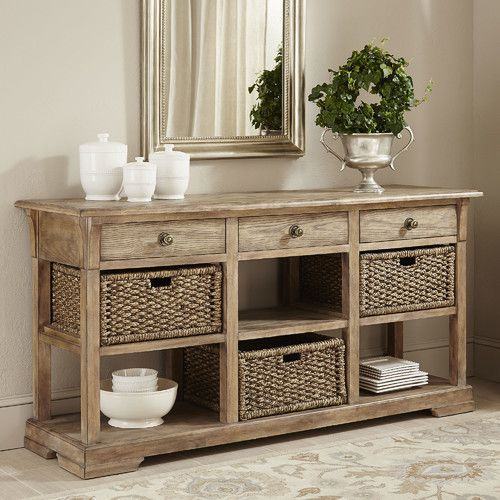 birch lane hutchinson console table beauty for the home entryway rh pinterest com
