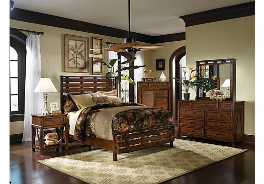 Picture Of Panama Jack Eco Jack 5 Pc Queen Bedroom From