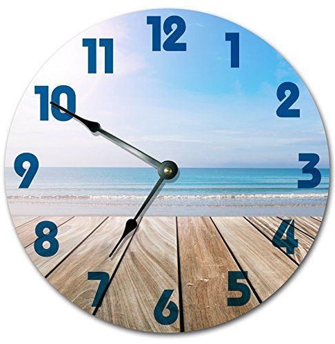 100 Beach Wall Clocks And Coastal Wall Clocks 2020 Wall Clock