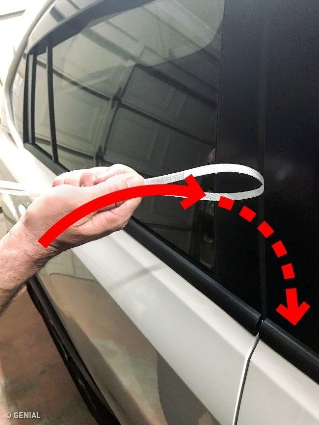 Como abrir la puerta de un auto