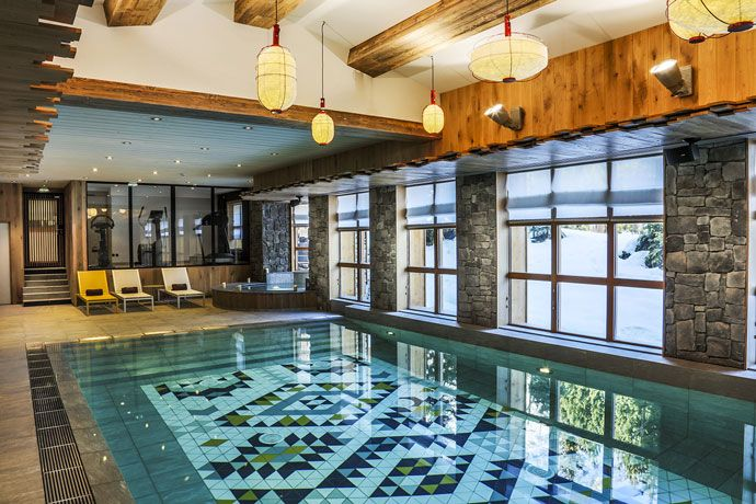 Perfect Swimming Pool In Hand Made Tiles By Normandy Ceramics