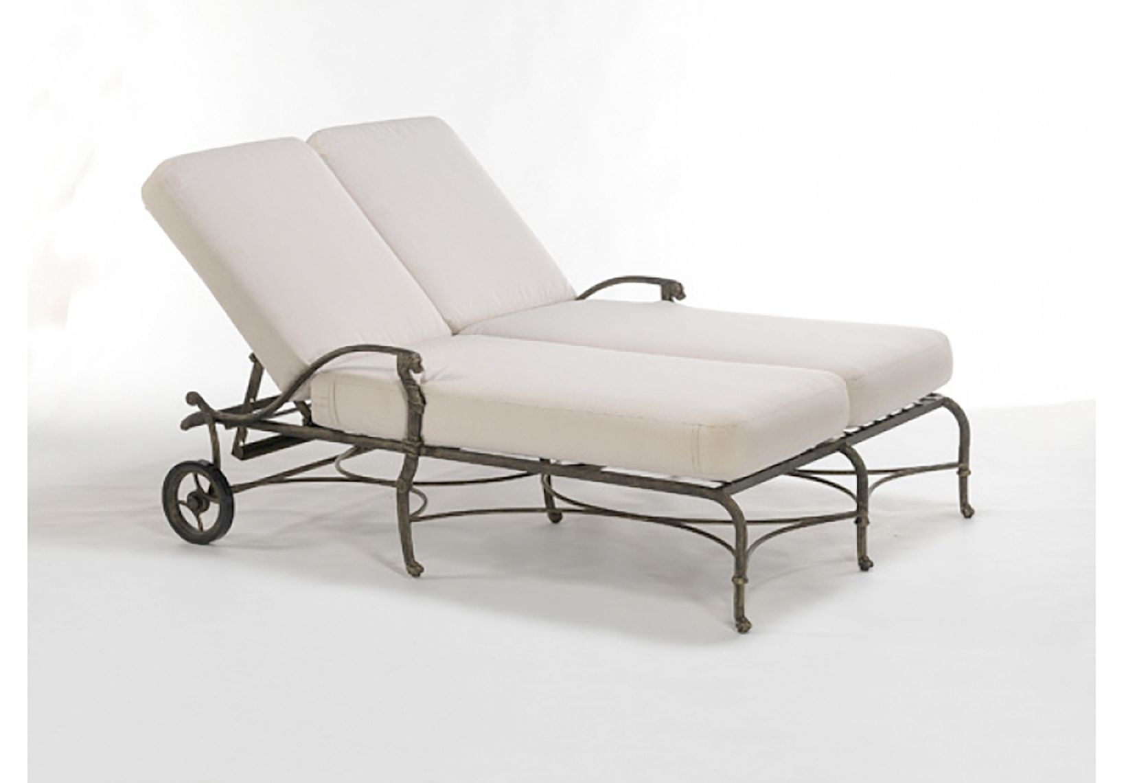 Oxleys Luxor Double Lounger Weathered Furniture Furniture