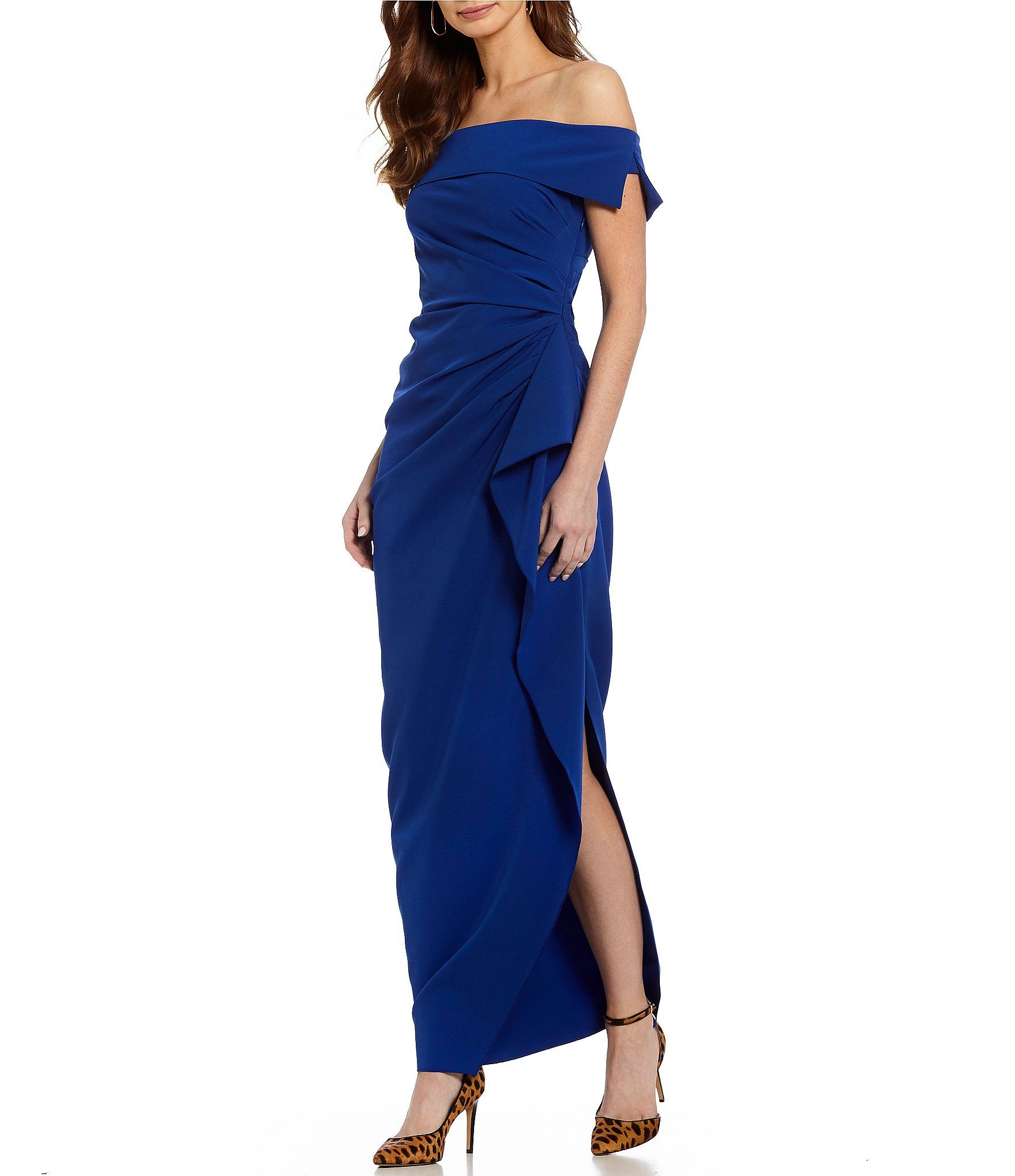 2e33aef3749 Shop for Vince Camuto Off Shoulder Gown at Dillards.com. Visit Dillards.com  to find clothing