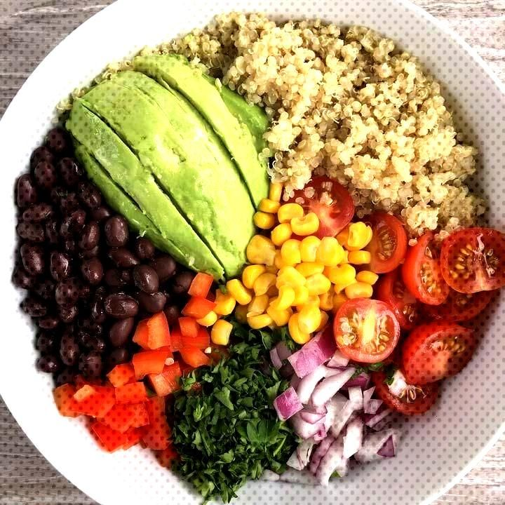 Quinoa Buddha Bowl - minimaldesign - Let! Eat.. -