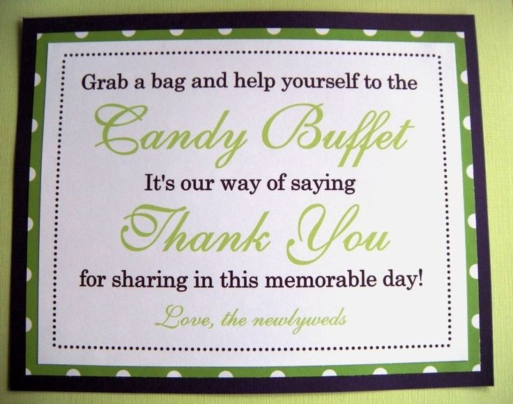 8x10 Flat Purple and Lime Green Polka Dot Candy Buffet Wedding ...