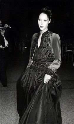 1976 - Marina Schiano in Yves Saint Laurent