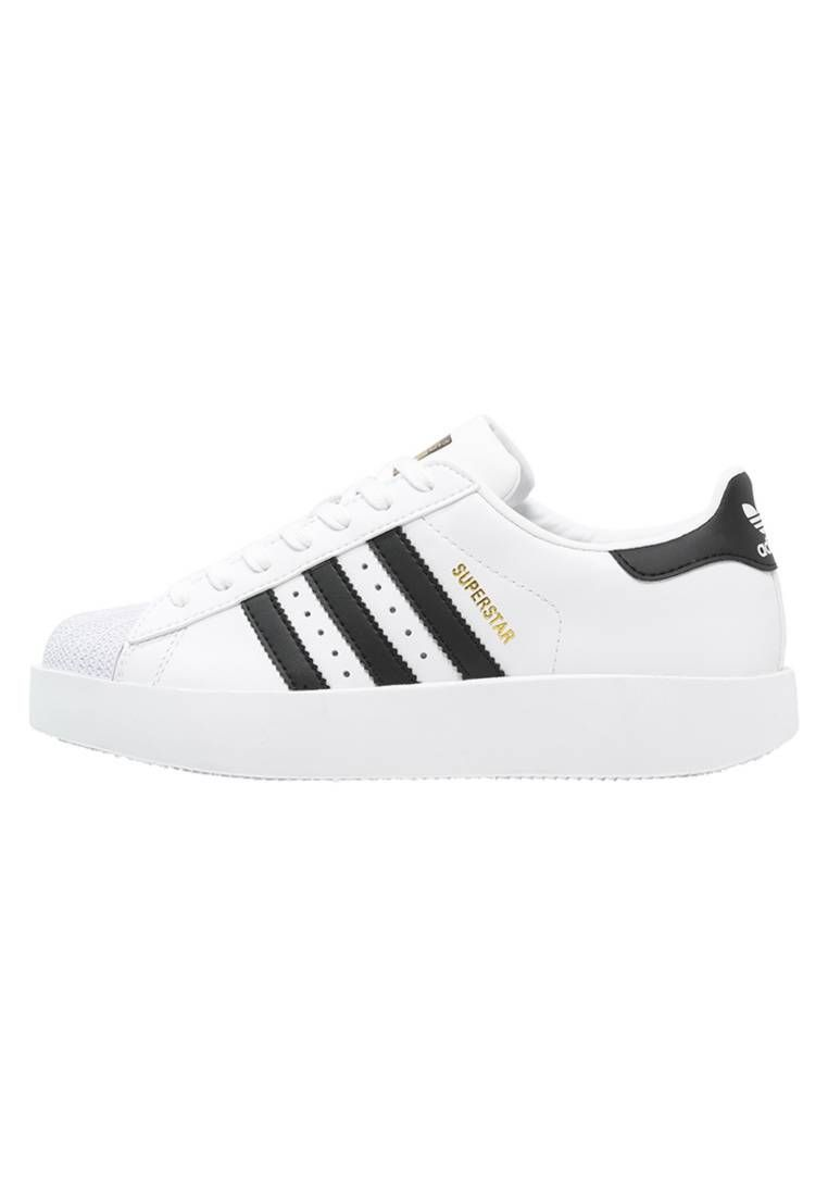 half off 0b895 84043 SUPERSTAR BOLD - Trainers - white core black gold metallic. upper material