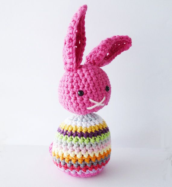 Crochet Pattern Easter Bunny PDF English US by annemariesbreiblog ...