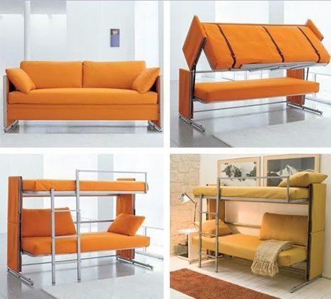 These Adjustable Pieces Are Great Quality, So Versatile   Weu0027ve Been  Watching The. Couch Bunk BedsBed ...