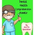 Dental Health Comprehension Pack has 5 worksheets which focus on comprehension and are ideal for Kindergarten and first grade. Each sheet has a sho...