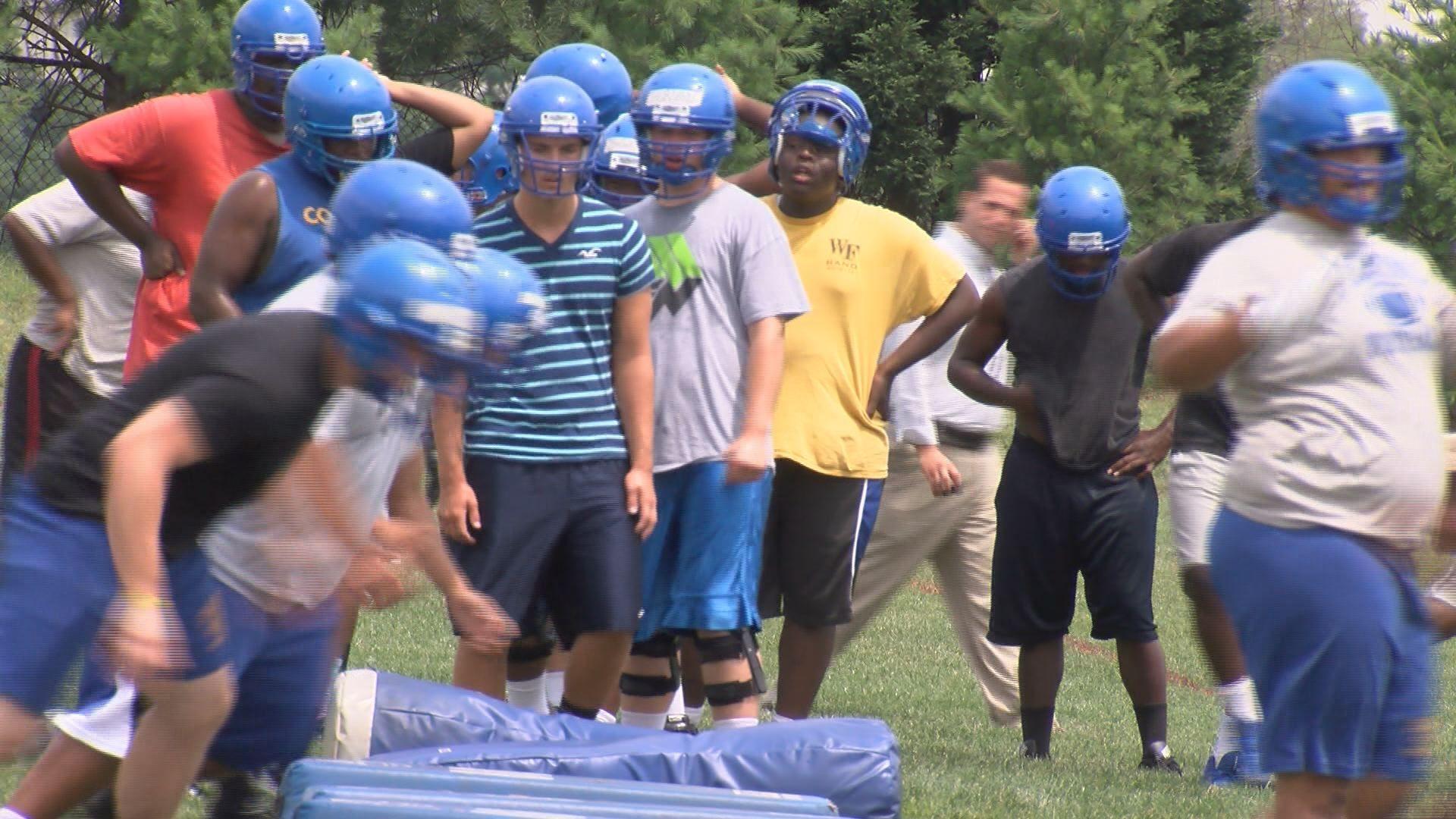 High school football season under way, head injuries under