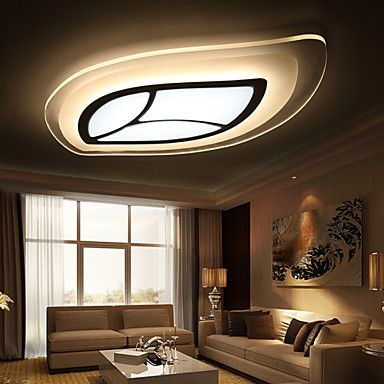 121 59 Flush Mount Ambient Light Others Metal Led 220 240v Warm White Yellow White Led Light Source Included Led Integrated False Ceiling Living Room Living Room Ceiling False Ceiling Bedroom