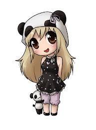 """Résultat de recherche d'images pour """"chibi fille panda"""""""
