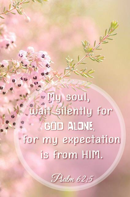 Image result for psalm 62:5 expectation