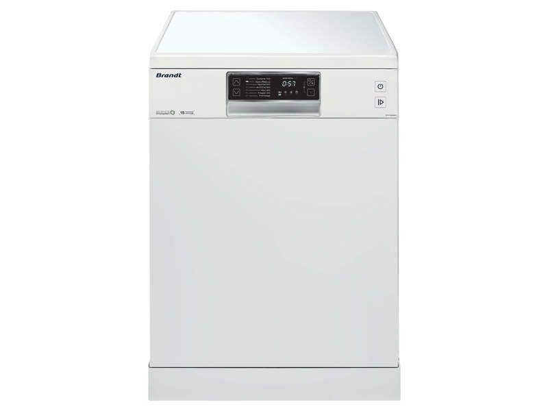lave vaisselle 15 couverts brandt dfh15532w pas cher prix promo