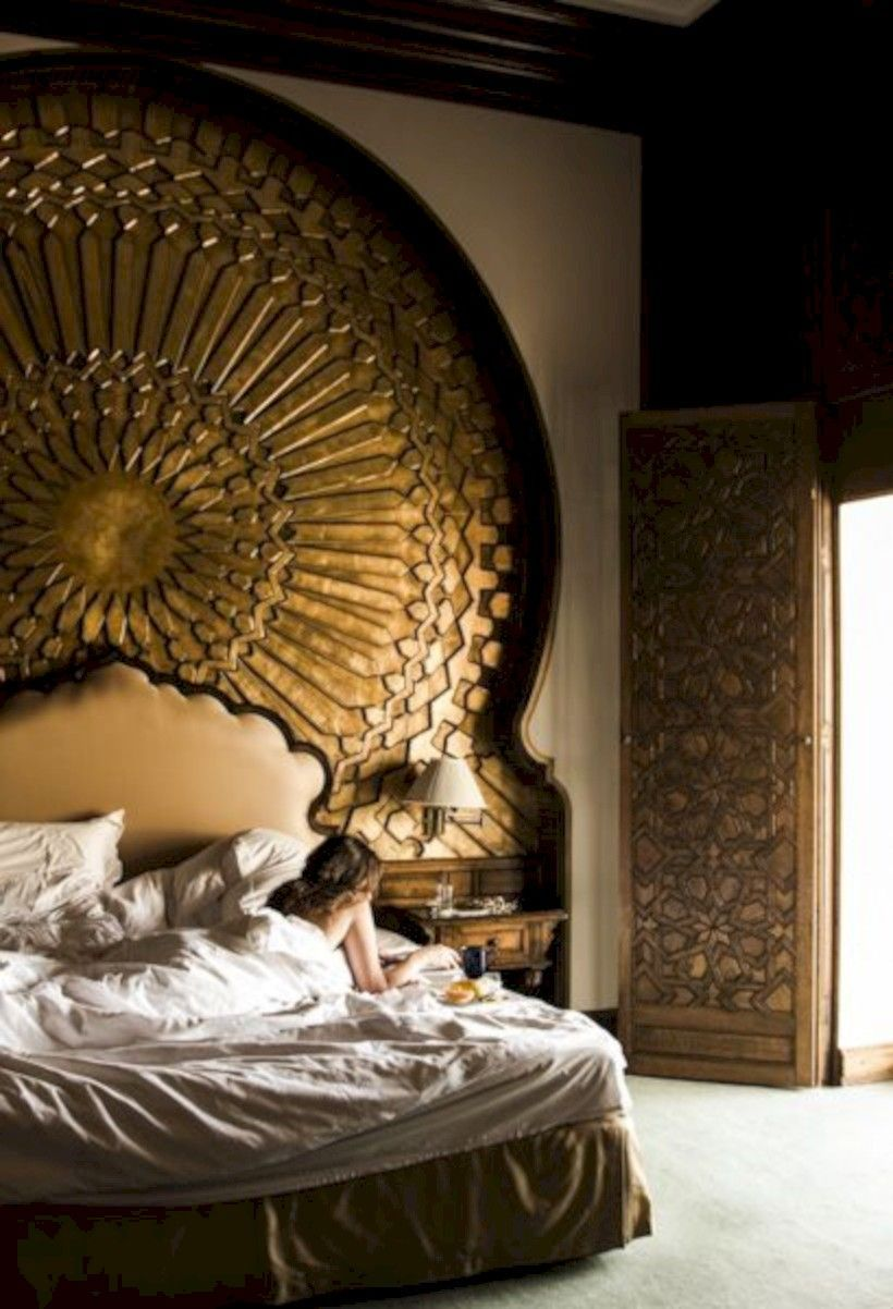 nice 62 Moroccan Themed Bedroom Design Ideas