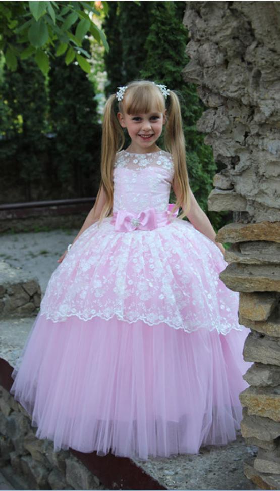 Colorful Toddler Ball Gown Elegant Flower Girl Dress#FlowerGirlDress ...