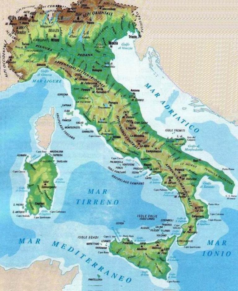 Cartina Geografica Italia Immagini.Le Carte Geografiche Disciplina Geografia Classe Terza Traguardi Per Lo Sviluppo I Competenze Carte Geografiche Geografia Italia