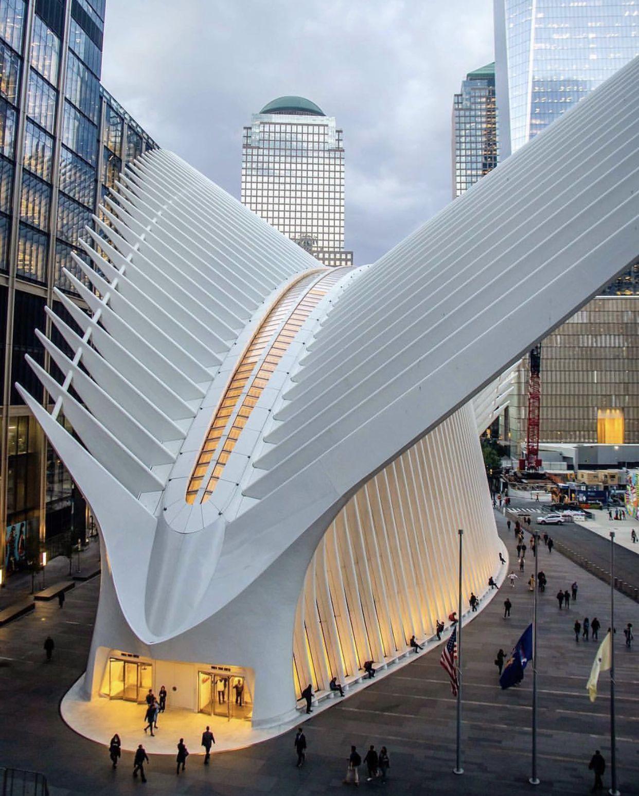 oculus world trade center by juampi design with movement rh pinterest com