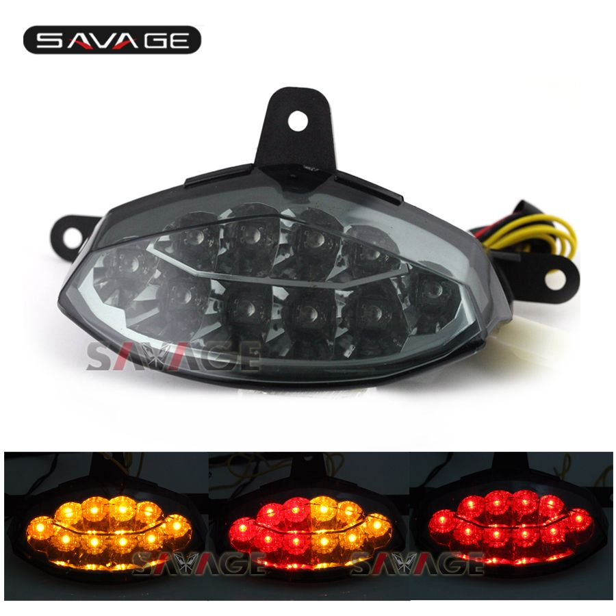 Integrated Led Tail Light Black//Smoke Yamaha R6 YEAR 2008,2009,2010,2011,2012,2013,2014,2015,2016