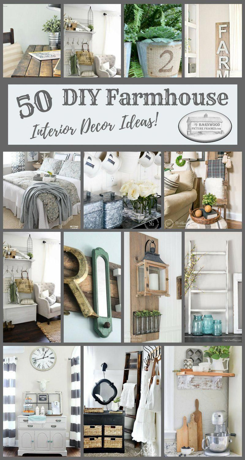 50 diy farmhouse interior decor ideas is a great place to find fresh rh pinterest com