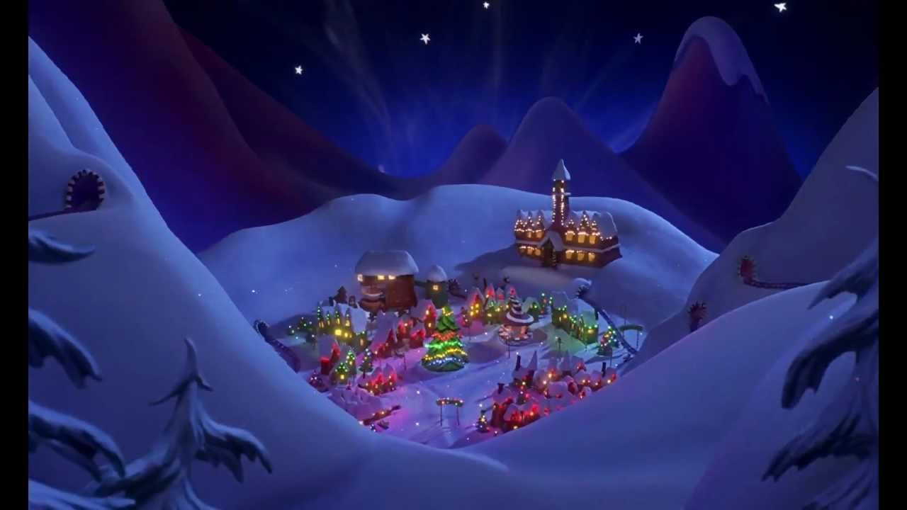 The Nightmare Before Christmas Christmas Town 1080p Hd Christmas Town Christmas Desktop Christmas Desktop Wallpaper