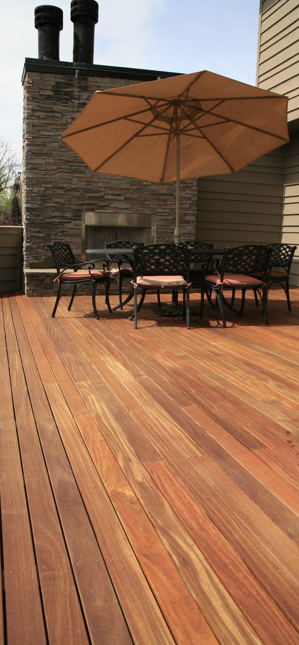 Exterior Design Ideas Cumaru Hardwood Deck Second