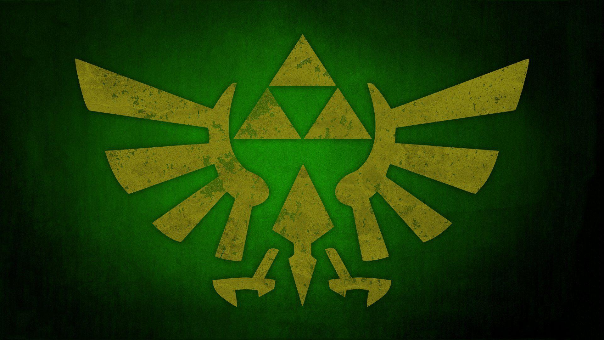 Hyrule Crest Wallpaper
