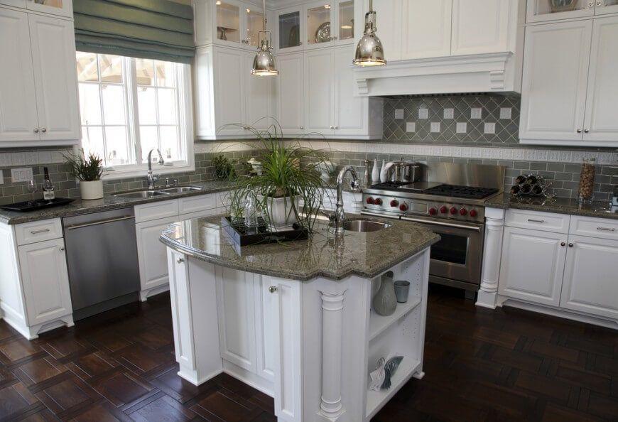 75 Kitchen Backsplash Ideas for 2020 (Tile, Glass, Metal ...