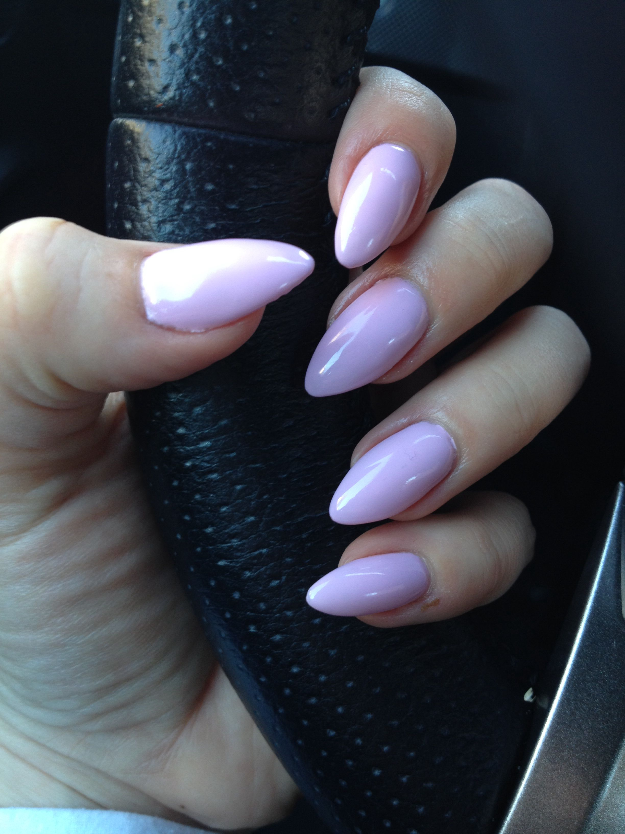 Stiletto claws , gel nails , no-chip manicure #pastel #pink | My ...