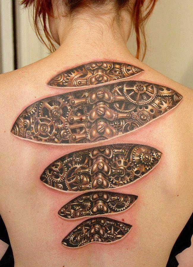 35 Amazing 3d Tattoo Designs Weird Tattoos Tattoos Unique