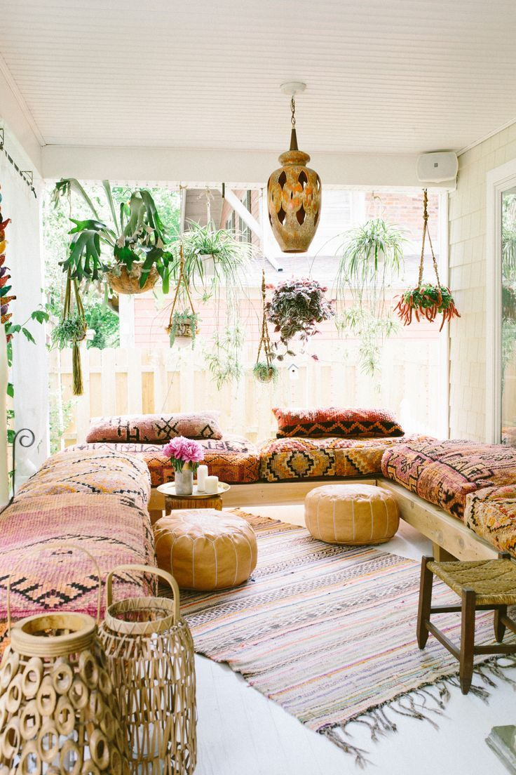 25 Bohemian Home Decor u003eu003e For More