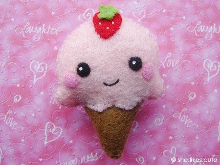 Shop update: ice cream pin | Flickr - Photo Sharing!