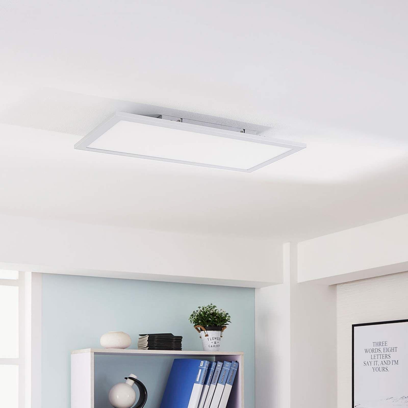 LED Deckenleuchte Livel Panel veränderbare Lichtfarbe Dimmbar Fernbedienung Büro