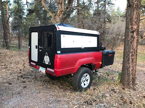 Compact Camping Concepts Truck Bed Trailer Diy Camper Trailer