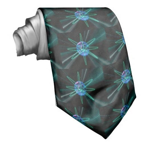Out Of This World Visable Earth Orbits Tie