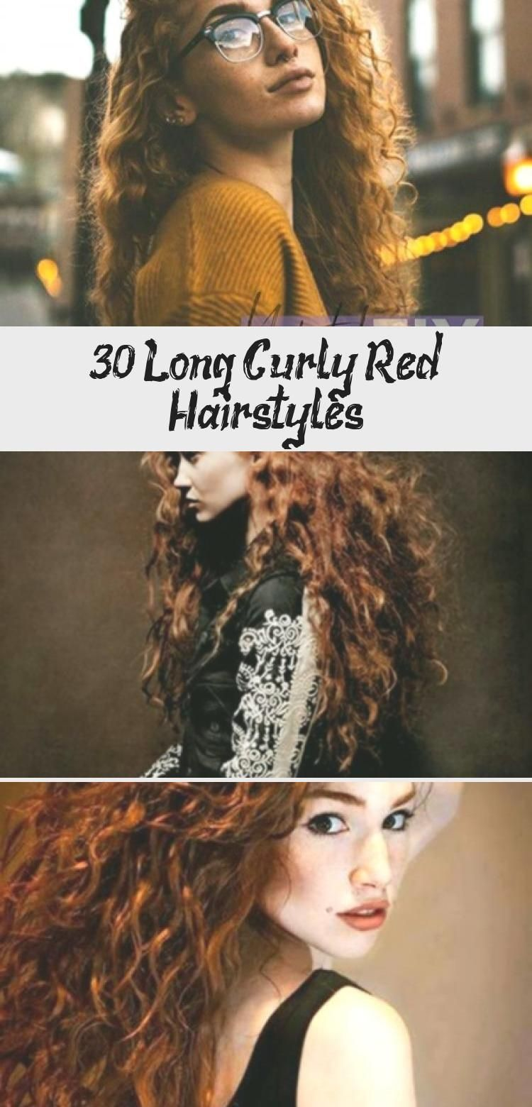 30 Long Curly Red Hairstyles – Hair Styles