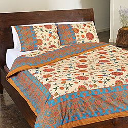 cotton duvet mandala quilt indian doona handmade cover boho throw queen pin ombre covers
