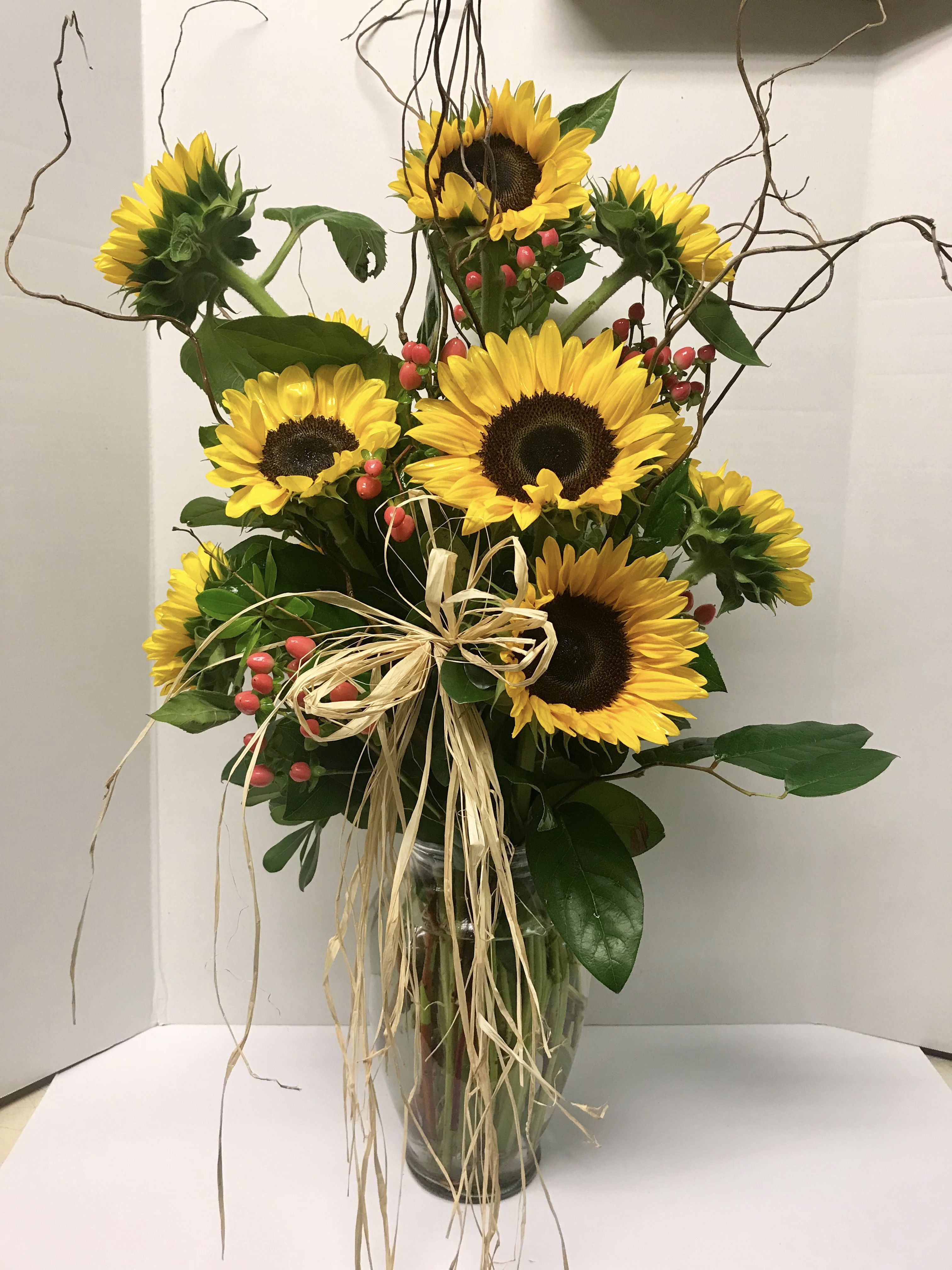 "Check out our gorgeous ""Sunflower Dreams"" Arrangement on ..."