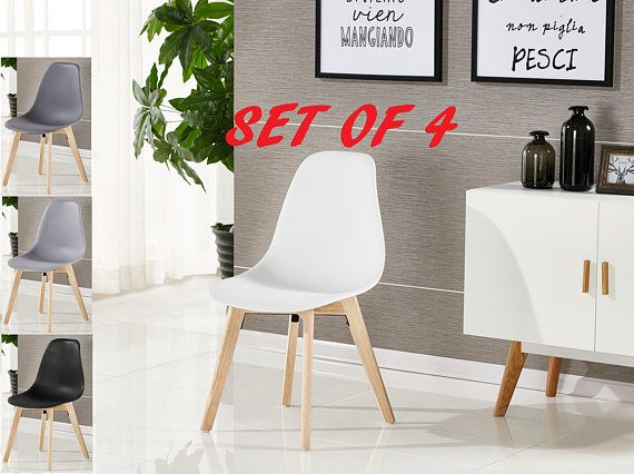 Contemporary Dining Room Chairs Pleasing Set Of 4 Rico Dining Chair Modern Contemporary School Style Design Decoration