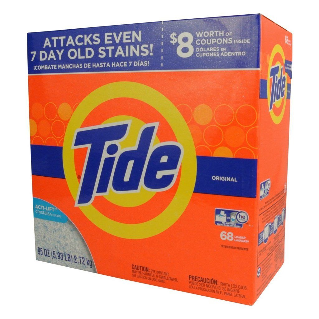 Tide 95 Oz He Powder Laundry Detergent With Images Powder
