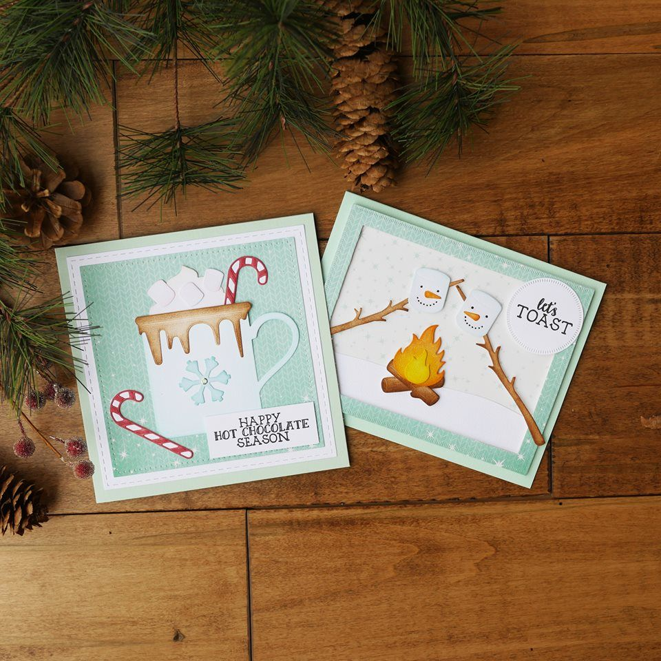 Love The New Elizabeth Craft Designs Dies And Stamps In Stock Now