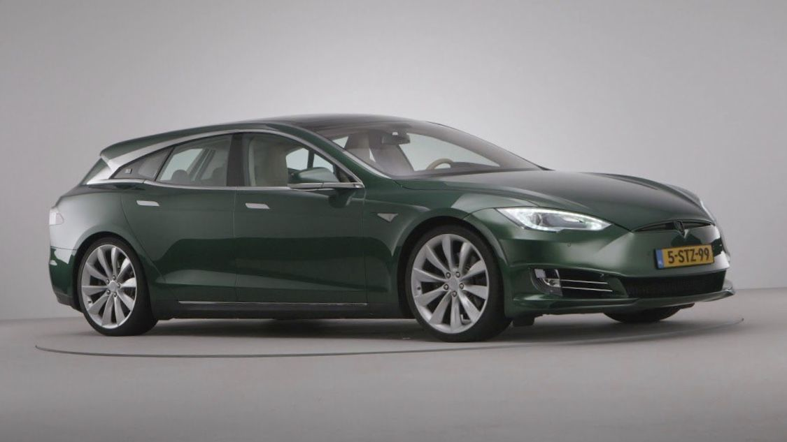 Tesla Model Sb Shooting Brake In 2020