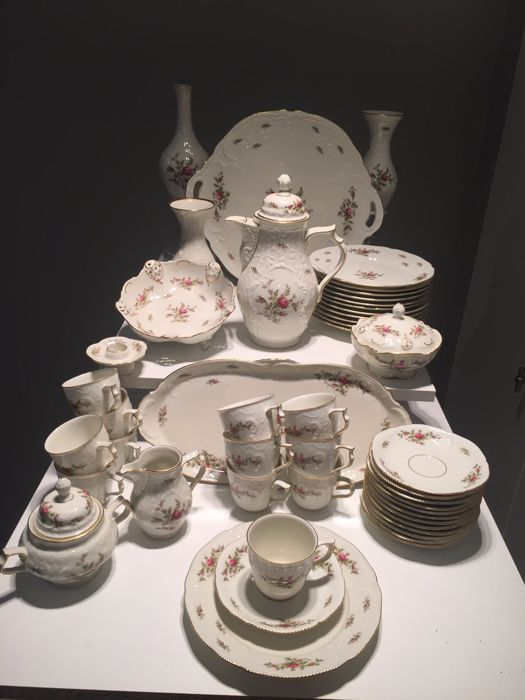Onwijs SOLD. Rosenthal Classic Rose China coffee Service. All Pieces GK-28