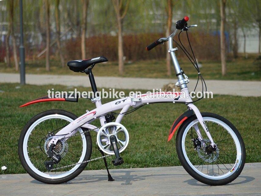 Nuevo diseño de la bici plegable de 20 pulgadas marco de acero ...