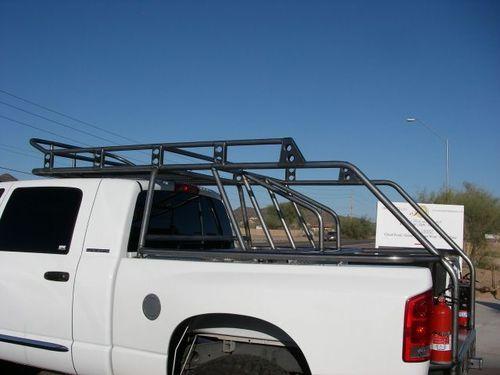 Durable Graphite Truck Bed Liner Truck Roof Rack Offroad Trucks